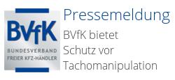 Bundesverband freier Kfz-Händler: Pressemeldung 23.10.2015