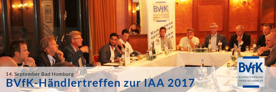 BVfK Haendlertreffen zur IAA 2017