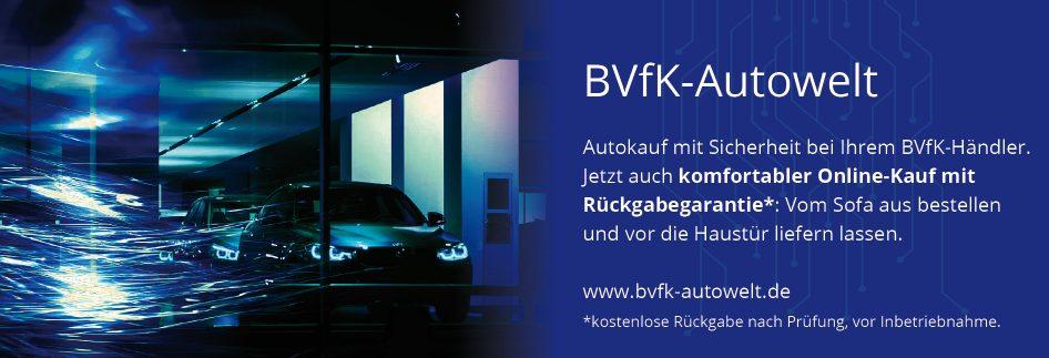 BVfk-Autowelt, Kfz-Börse, BVfK-Händler, Kfz-Händler, Bundesverband freier Kfz-Händler
