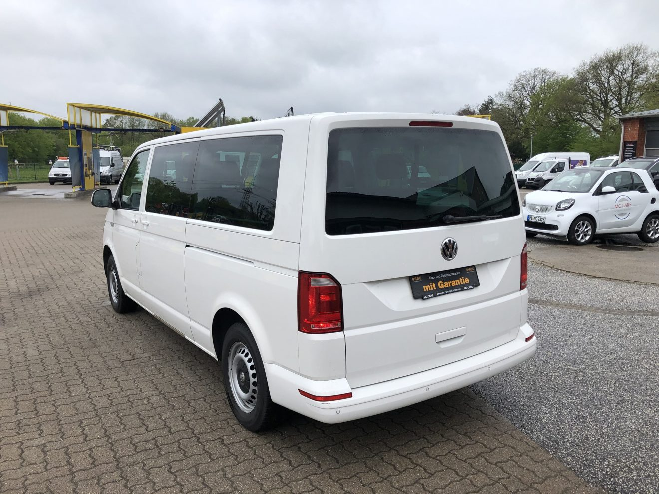 T6 Caravelle Heck