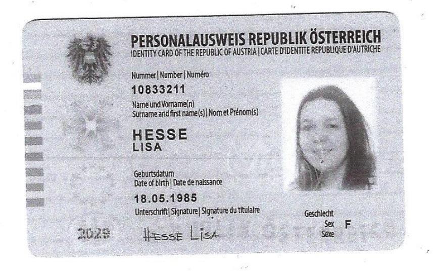 Person Lisa Hesse